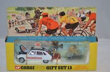 Corgi Toys Gifset 13 Paramout tour de France SUPER SET WITH ORANGE LABEL SCARCE