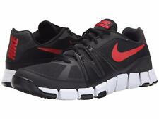 NIKE SHOES MEN'S SIZE 12 FLEX SNEAKERS BLACK / RED SHOW 684701 012