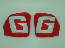 Gaerne SG12 Motocross Boots Red Front Plate Set 8 9 10 11 12 13 14