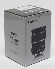 CANON 17-55MM F/2.8 IS USM. NEW IN BOX. USA WARRANTY