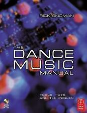 Dance Music Manual: Toys, Tools and Techniques-ExLibrary
