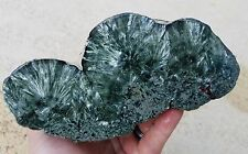 SERAPHINITE LAPIDARY ROUGH FROM RUSSIA 3LB 0.2OZ