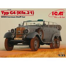 TYP G4 (KFZ.21), WWII GERMAN STAFF CAR 1/35 ICM 35538