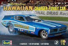 Revell Monogram Leong's The Hawaiian Dodge Charger Funny Car  model kit 1/16