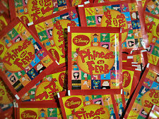 Panini Phineas und Ferb -  50 Tüten - 250 Sticker Neu Disney