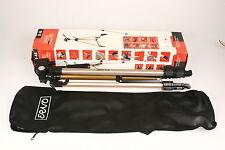 Erno D45 Dreibeinstativmit 3D-Neiger, Schnellwechselplatte und Tasche in OVP