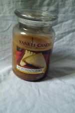 YANKEE CANDLE Shortbread Cookie House Warmer LARGE 22 oz Jar Burned