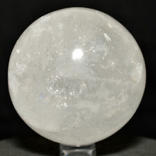 60mm Rainbow Quartz Sphere Natural Crystal Polished Mineral Stone Ball - India