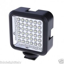 WANSEN W36 160lm LED Video Light Lamp for Canon / Nikon with Battery Charge