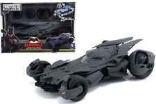 "1/24 Jada DC Comics Metals Batman V Superman 8"" Batmobile Model Kit 97395 Grey"