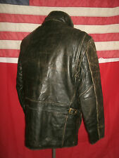 Superb Vintage ANDREW MARC  Red Label Motorcycle Bucklebacks Leather Jacket.Sz M