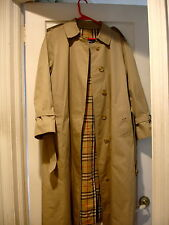 WOMEN'S TAN BURBERRY PRORSUM TRENCH COAT -(UK size10P) (US size 8P)