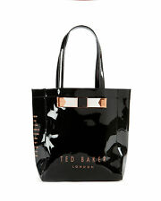 BRAND NEW Ted Baker LONDON Small Black TOTE Shopper Bag