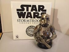 Star Wars Gentle Giant Chrome Edition Storm trooper Limited Edition