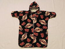 NHM MLB SAN FRANCISCO GIANTS  printed FLEECE BABY BUNTING COAT Newborn to 6 Mo.