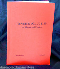GENUINE OCCULTISM  Finbarr Occult  Magick Grimoire. W. Jenkins Magic Witchcraft