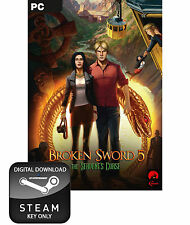 BROKEN SWORD 5 THE SERPENT'S CURSE PC, MAC AND LINUX STEAM KEY