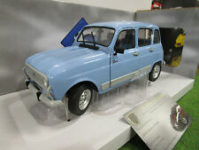 RENAULT 4 GTL CLAN bleu Jacint 1/18 SOLIDO S1800103 voiture miniature collection