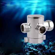1PC 3 Way Shower Head Diverter Valve T-adapter Valve Toilet Bidet Bathroom Tool