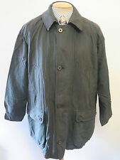 "Genuine Burberry Green Cotton Jacket / Coat Size 40"" Euro 50"