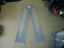 "Yada Yada Boot Cut Jeans Waist 30"" Leg 32"" Faded Dark Blue Ladies Jeans"