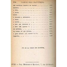 PREMIÈRES POÉSIES 1829-1835 Alfred de MUSSET Chants Éd. illustrée Fasquelle 1909