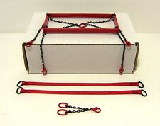 Evot - Brass Lifting Frame 1:48th. Authentic Manitowoc Red. Crane Accessories.