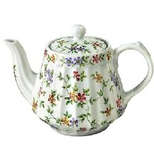 "Andrea by Sadek Porcelain 6 Cup Teapot Tea Pot 6.2"" GARDEN BOUQUET"