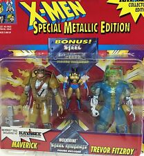 Vintage 1994 Marvel Comics ~ MAVERICK vs TREVOR FITZROY ~ X-Men ~ ToyBiz~ MOC