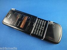 Nokia 8800 Black arte negro celular absolutamente New nuevo Made in Korea lifetimer 0:00