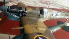 SUPERMARINE SPITFIRE MK.VB NORTH AFRICA 1:24 SCALE BUILT AND PAINTED.