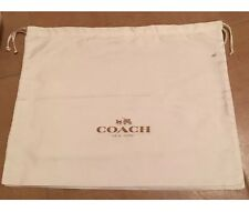 Brand New Coach Authentic Satin Dust Bags Storage Bag LARGE 19.50x15.25