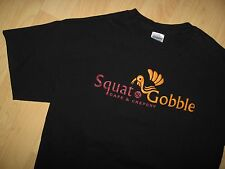 Squat & Gobble Tee - LGBT Castro San Francisco California USA Gay Cafe T Shirt M