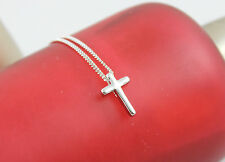 Lady Fashion Jewelry Rare Cross 14K White Gold Plated Pendant Necklace