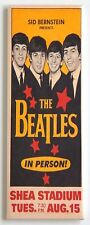 Beatles Shea Stadium FRIDGE MAGNET (1.5 x 4.5 inches) concert poster