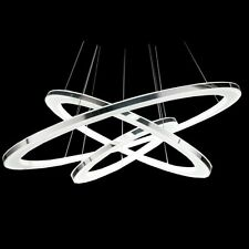 3 Rings  LED Crystal Chandelier Ceiling Pendant Lighting Lamp