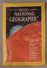 NATIONAL GEOGRAPHIC JANUARY 1980 JUPITER OWLS PRAIRIE HOKKAIDO ROCK ART LILY PAD