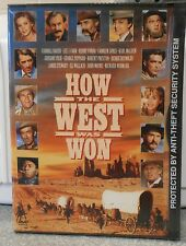 How the West Was Won (DVD, 2000) RARE 1962 JOHN WAYNE JAMES STEWART BRAND NEW