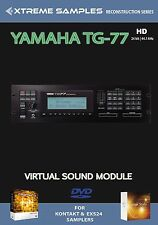 Xtreme Samples Yamaha TG-77 HD Virtual Sound Module Logic EXS24 | NI Kontakt