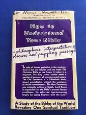 HOW TO UNDERSTAND YOUR BIBLE- 1ST. INSCRIBED BY AUTHOR TO ERNEST THOMPSON SETON