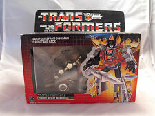 TRANSFORMERS GENERATION 1, G1 AUTOBOT FIGURE DINOBOT SNARL BOXED