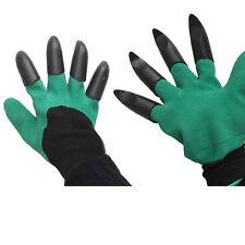 Unisex Yard Garden Work Mud Digging Gloves Plant Hand Rubber Protectors Gloves