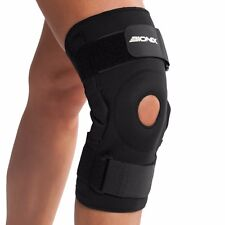 Knee Brace Support Bionix Neoprene Hinged Open Patella Strap Injury Pain Relief