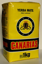 1kg Canarias Yerba Mate 1000g Free Delivery & Free Gift Chia Seeds