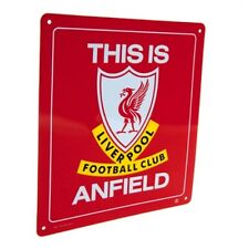 "Liverpool FC ""This Is Anfield"" Authentic EPL Metal Sign"