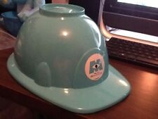 Disney Kellogg's Monsters Inc. Hard Hat Cereal Bowl with Lid Promo Hard to Find