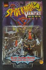 Spider-Man Vampire Wars Blade Action Figure Marvel ToyBiz New Sealed VTG Movie