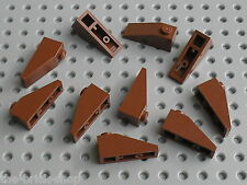 LEGO RedBrown Slope Brick ref 4286 / Set 7752 4766 10144 10193 7197 4750 10188..