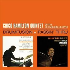 Drumfusion/Passin Thru with Charles Lloyd by Chico Hamilton Quintet (CD,...