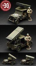 FIGARTI WW2 AMERICAN ETA-033 U.S. ARMY ROCKET JEEP SET MIB